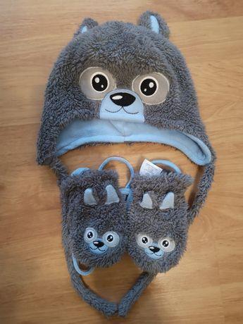 Komplet zimowy Cool Club czapka + rękawiczki