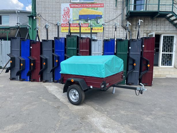 Купить прицеп Лев 18 1800х1300 и другие модели от Завода