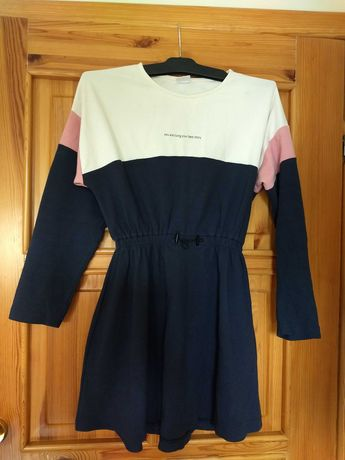 ZARA sukienka długi rękaw 164 - najmodniejsza CUDNA