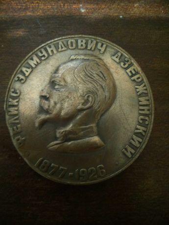 Настольная медаль Дзержинский