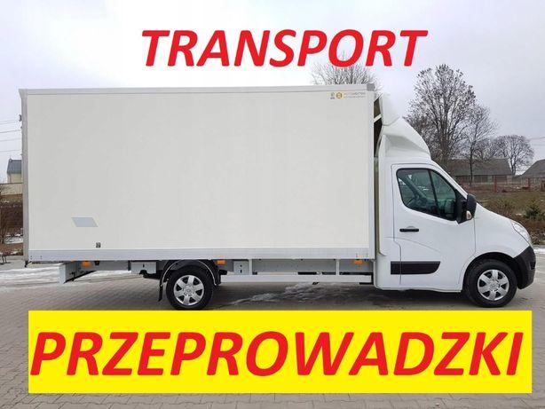 Przeprowadzki, transport, ludzie do noszenia, taxi bagażowe, Elblag