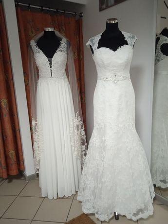 Suknia ślubna używana biała rozm 40