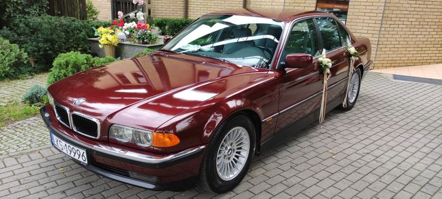 Heaven with Seven BMW 7 E38 do Ślubu Auto do Ślubu