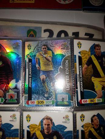 karty piłkarskie kolekcjonerskie