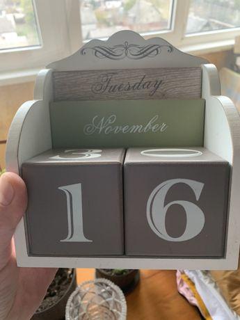 Календарь декор