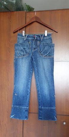 Детские джинсы бриджы