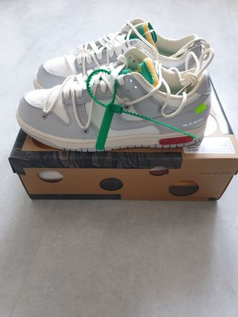 Nike dunk low off white lot 25