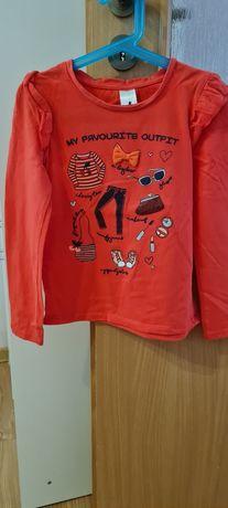 Bluzka dla dziewczynki C&A rozmiar 128