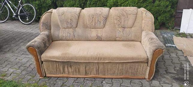 Zestaw wypoczynkowy, kanapa + 2 fotele