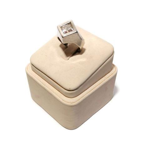 Wyrób jubilerski używany- srebrny pierścionek