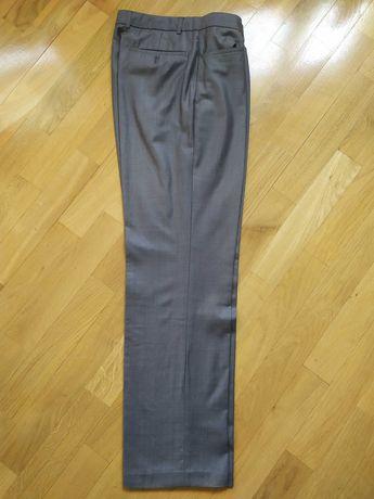 Штани, брюки чоловічі класичні тонкі сірі 48 р