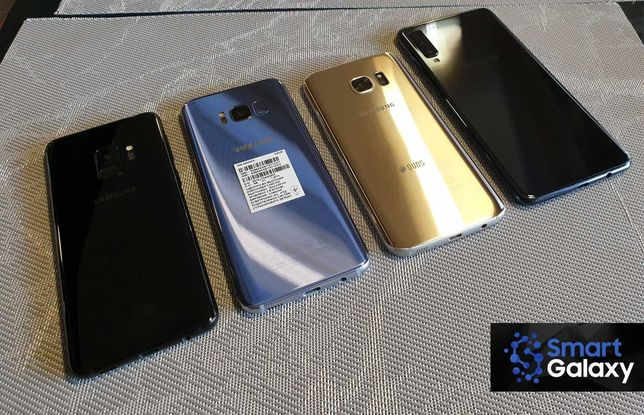 Samsung galaxy s7 , s8 , s9 , a7