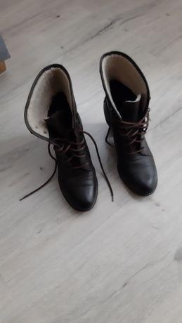 Buty ze  skóry rozmiar 38