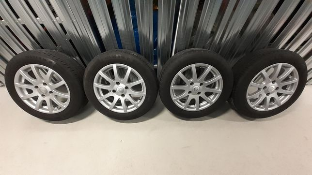 FELGI OPONY KOMPLET R16/205/55 Nissan Almera N16 Primera P11
