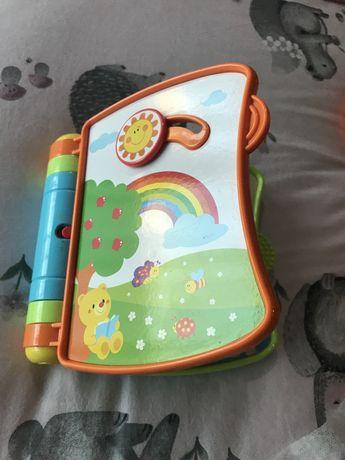 Brinquedo livro interativo com som