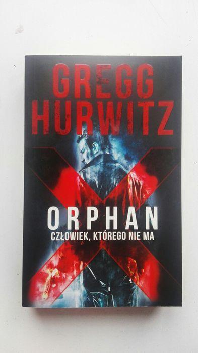 Orphan X, człowiek, którego nie ma. (Książka) Inowrocław - image 1