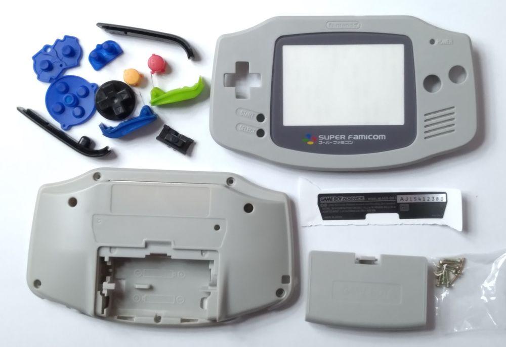 Корпус Nintendo Game Boy Advance gameboy геймбой super famicom Бердянск - изображение 1