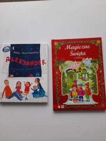 Książki Aleksander i Magiczne Święta