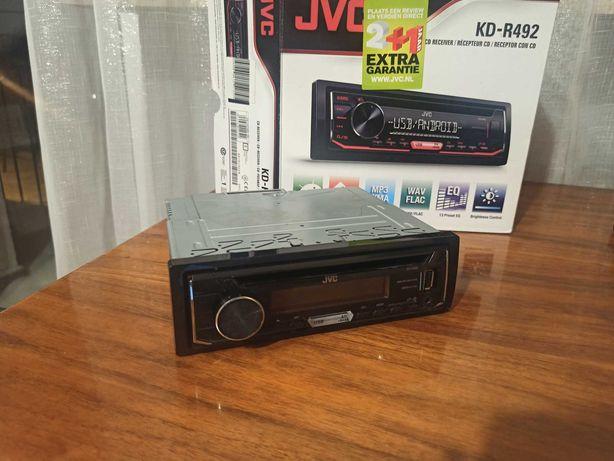 Radio samochodowe JVC R492