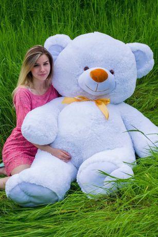 Красивый мишка белый. Медведь большой 190 см. Мягкая игрушка