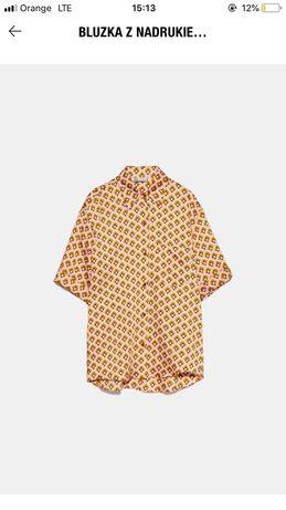 Koszula zara L wzory