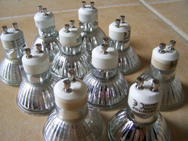 Lâmpadas halogeneo GU10 - luz, iluminação, candeeiro - BAIXA DE PREÇO