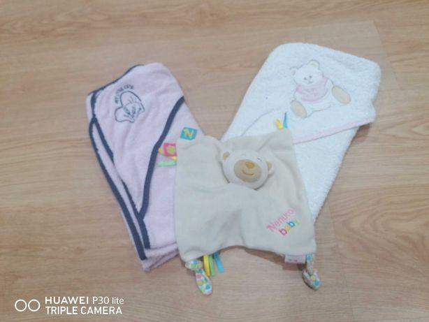 Toalhas banho bebé