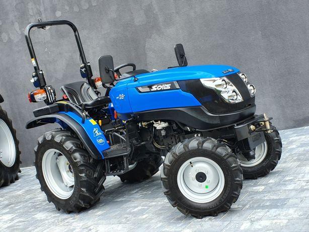 SOLIS 26, leasing, RATY,mini traktor,komunalny, ogród,JAPAN TRAK