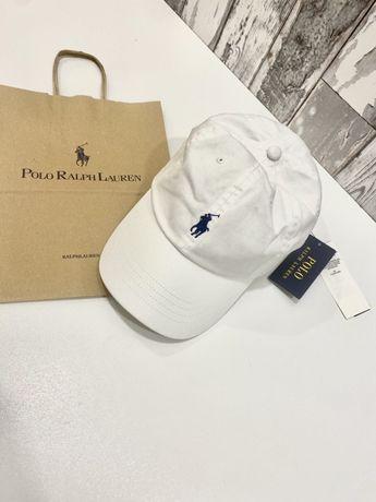 NOWA czapka RALPH LAUREN z daszkiem z metkami torba papierowa prezent
