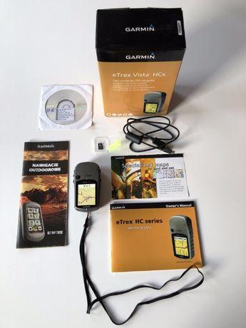 Nawigacja outdoroowa GPS Garmin eTrex Vista HCx