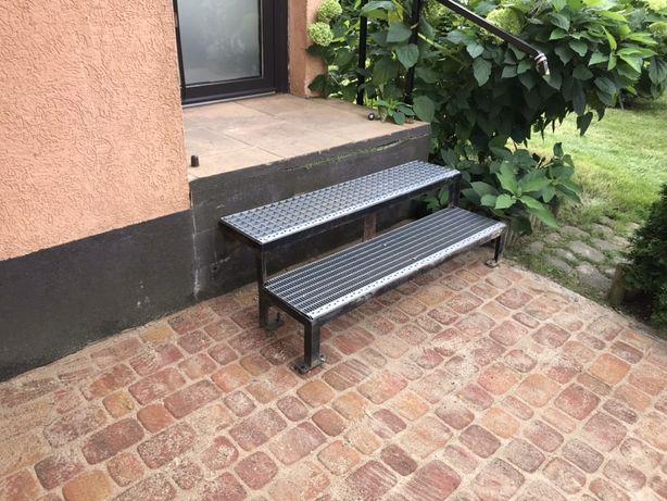 Stopnie, schody, stopnie schodowe Metalzbyt Poz + stelaż 1/3 ceny