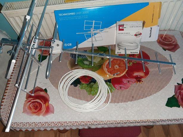 Antena kierunkowa i ok. 10m kabla