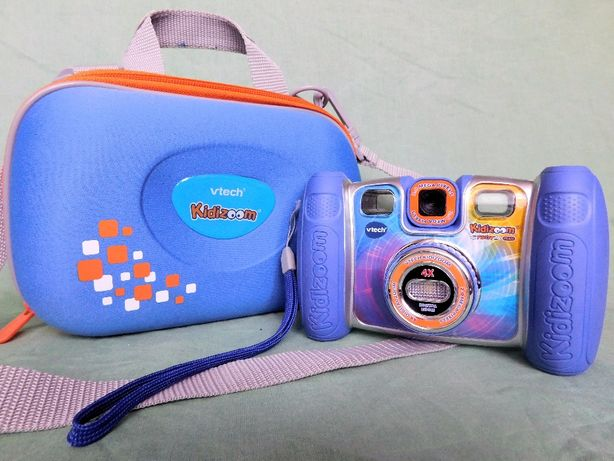 Детская камера – фотоаппарат vtech kidizoom twist plus
