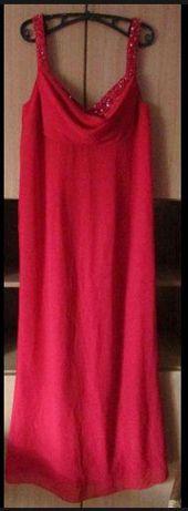 Sukienka Sukienki wesele komunia wizytoweelegancka czerwona