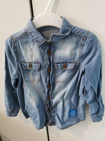 Koszula a'la jeansowa 86