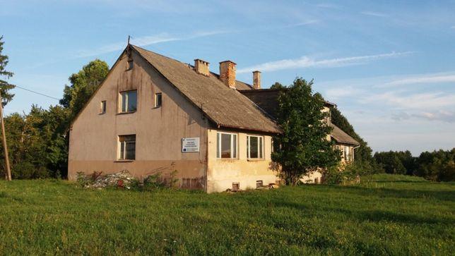 Murowana stara szkoła w Budzisku (Hotel, Motel, Zajazd, Firma, Biznes)