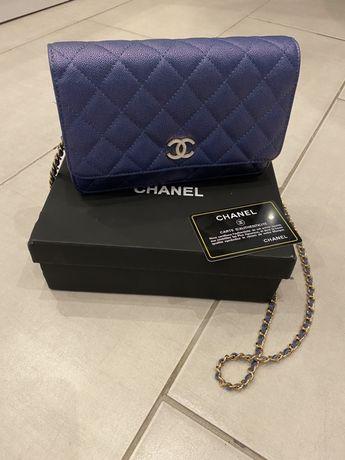 Chanel torebka listonosza skora certyfikat