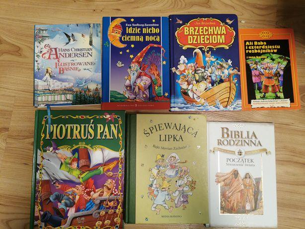 Książki dla dzieci 12 szt