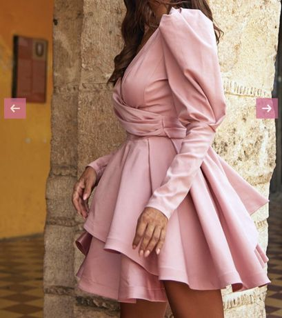Sukienka Lou Miriam xs różowa