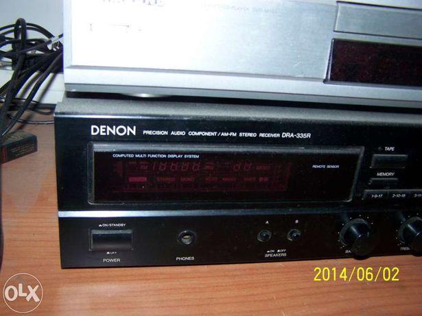 Amplificador DENON com comando