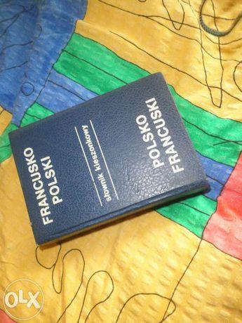 słownik kieszonkowy francusko-polski, polsko-francuski