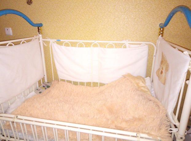 Дитячий комплект постельного, матрац