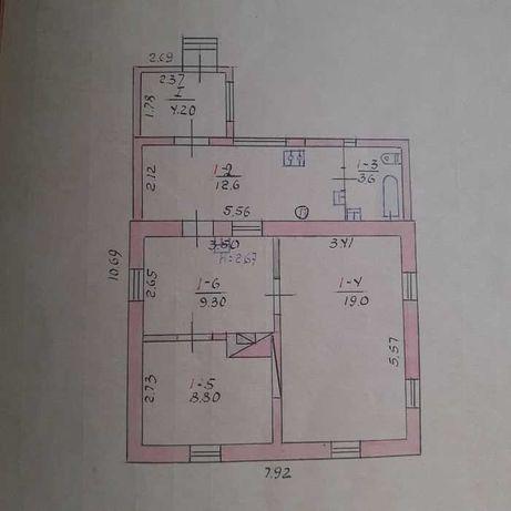 Дом на Дублянщине с отдельным двором