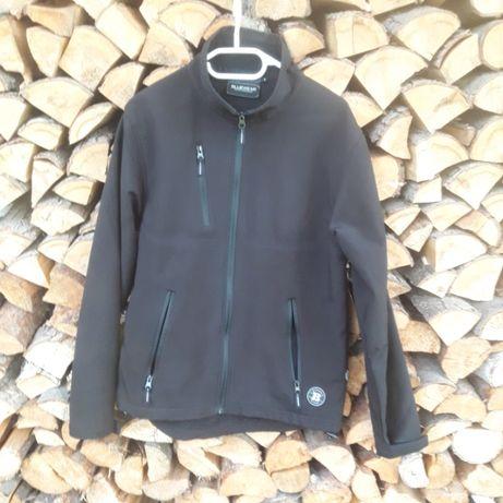 Czarna kurtka bluza wilgocioodporna zamek Bluewear