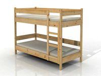 drewniane łóżko piętrowe pracownicze robotnicze dla hosteli, dzieci