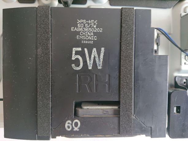 Głośniki LG do tv komplet EAB636%50201 + 202