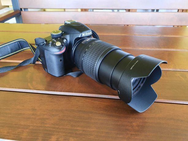 Lustrzanka Nikon D3200, Nikkor 18-105 mm VR DX. Stan idealny, gratisy.