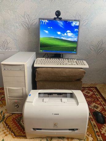 Продам комплект ПК/Принтер