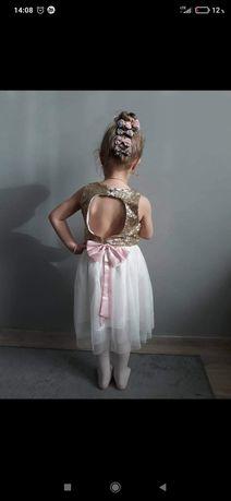 Sukienka wesele, ślub, chrzest, okazje rozm 116-122