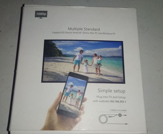 MiraScreen TV streaming device by AirPlay and Mircast